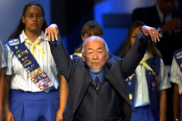 Uno de los más memorables, sin duda, es el profesor Miyagi, a qui...