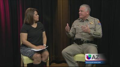 Exclusiva con Director del Departamento de Seguridad Pública de Arizona