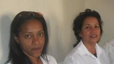 Las dos jòvenes, Ivonne y Marisa
