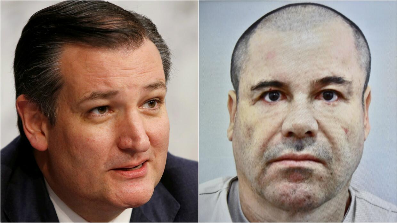 """La """"ley de El Chapo"""", un proyecto del senador Ted Cruz que busca pagar e..."""