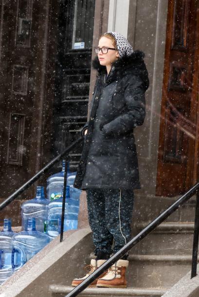Jennifer Lawrence, conocida por su papel de la revolucionaria arquera Ka...