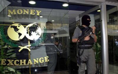 Operativo realizado en 2001 contra el lavado de dinero en México.