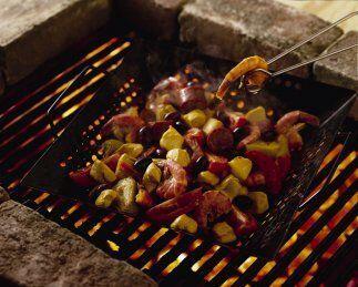 Brochetas mexicanas de pollo a la parrilla: La chef Lourdes Castro te pr...