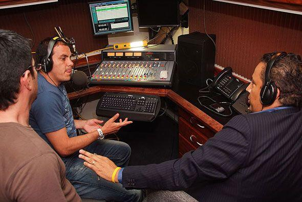 En la radio también tuvo su paso como comentarista en Univision R...