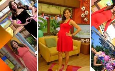 Satcha Pretto ya cumplió 40 semanas de embarazo