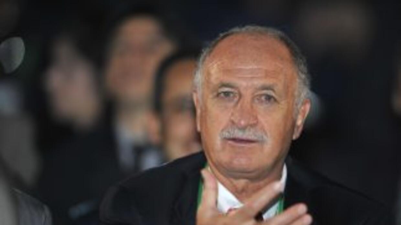 Luiz Felipe Scolari, quien dirigió a Cristiano cuando estuvo a cargo de...
