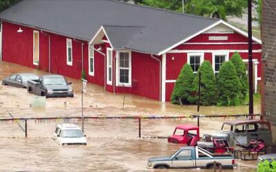 Emergencia en West Virginia tras fuertes inundaciones.