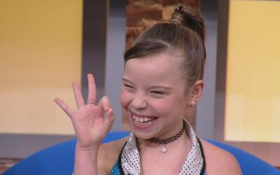 La pequeña Sammy Blue lleva el azúcar' en la sangre y tiene muchos talentos