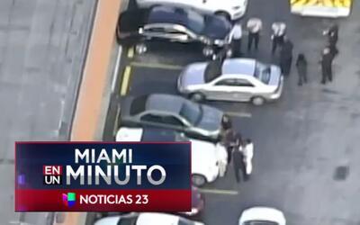 'Miami en un Minuto': un estudiante fue apuñaleado, presuntamente, por u...