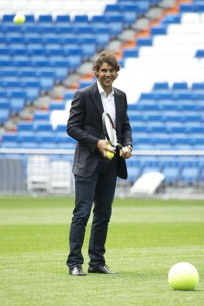 """Nole"" Djokovic y Rafa Nadal, aseguró Florentino, ""convertirán al Bernab..."