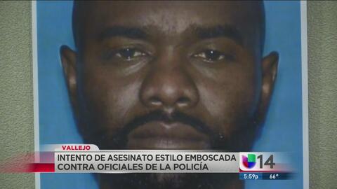 Hombre intenta emboscar a dos policías de Vallejo