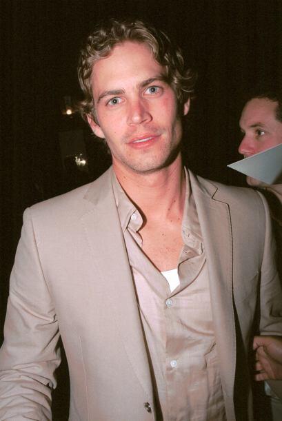 """Paul en marzo de 2002, en una fiesta tras el """"scar."""