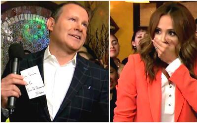 Alan y Karla recibieron una gran sorpresa con los trucos del mago Daniel...