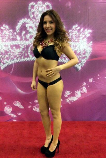Esta bella chica es mexicana y audicionó en Chicago. Una de sus grandes...