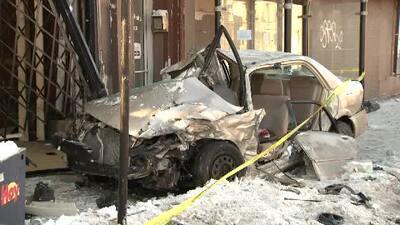 8 heridos en aparatoso acciente en Logan Square