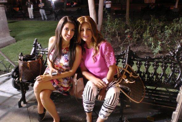 Maity y Paola lucían radiantes a pesar de madrugar para regalarnos un pr...