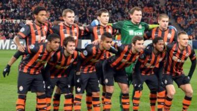 El equipo ucraniano del Shakhtar sufrió las deserciones de seis futbolis...