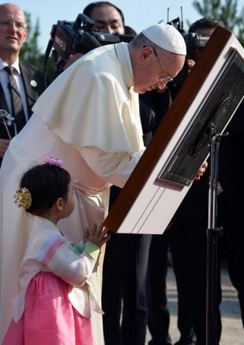 Es por ello que el Vaticano tomó como destino Corea en la primera visita...