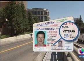 """Licencias para todos: """"veteran"""" en la licencia de conducir"""