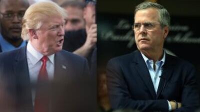 Donald Trump vuelve a ofender a Jeb Bush