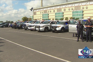 Policias de San Antonio honran memoria de Goforth