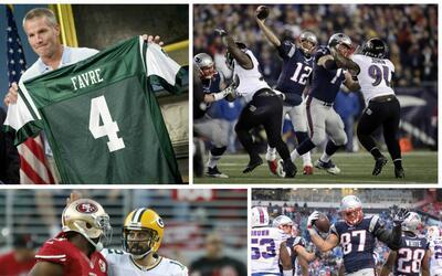 ¿Favre con los Jets? ¿Brady con los Ravens? ¿Rodger...