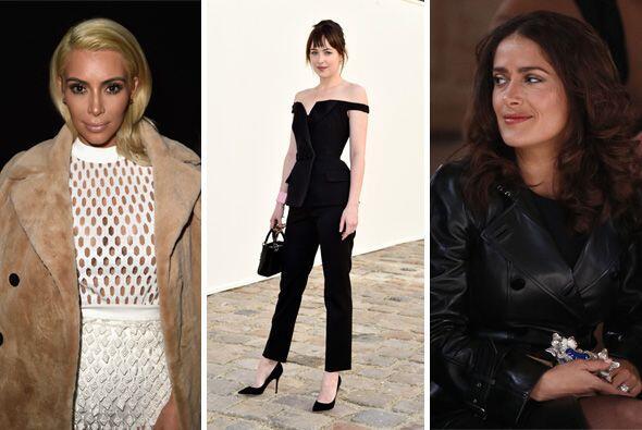 Las celebridades  han robado cámara en la semana de la moda. Los reflect...