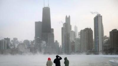 Los expertos dicen que este martes es el día más helado en cuatro década...