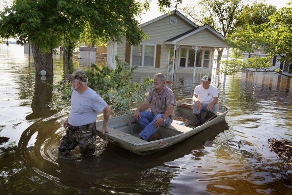 """""""Tenemos una gran confianza en nuestros diques, pero en el sentido de la..."""