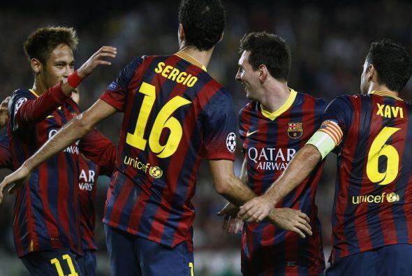 A falta de tres minutios para que se cumppliera el tiempo regular, Messi...