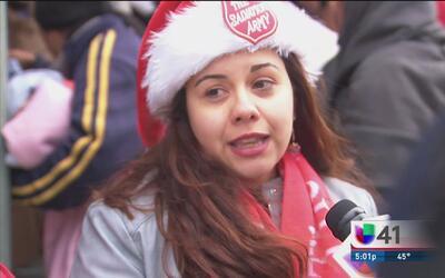 Decenas de personas sin hogar buscan refugio ante el frío
