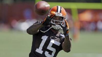 Davone Bess quedó fuera de los Browns (AP-NFL).