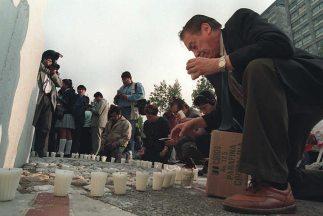Las víctimas del sismo que sacudió a México en 1985 son recordadas cada...
