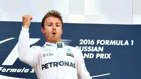 Nico Rosberg gana el Gran Premio de Rusia