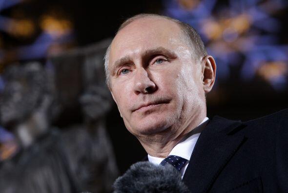 1. Vladimir Putin. El presidente de Rusia lidera el ranking de los líder...