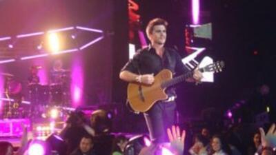 Juanes durante uno de sus conciertos
