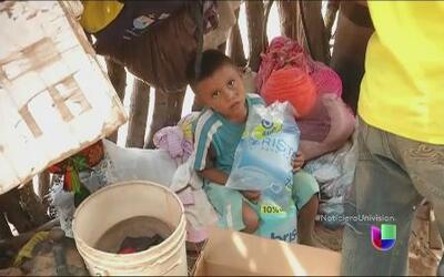 Comenzó a llegar ayuda a damnificados de severa sequia y desnutrición en...
