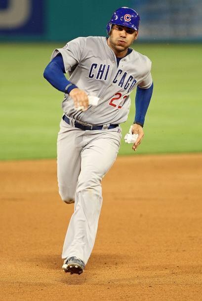 El también dominicano Carlos Peña tuvo un promedio de .250 con tres bata...