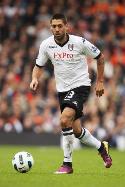 Mientras que Clint Dempsey, estrella del Fulham inglés, con 28 a&...