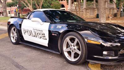 Corvette fue donado por las autoridades federales