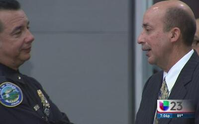 Fuera de su cargo Jefe de Policía de Doral