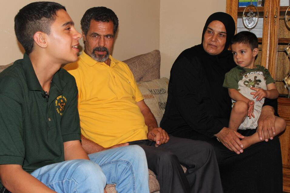 Familia siria encuentra refugio en Houston
