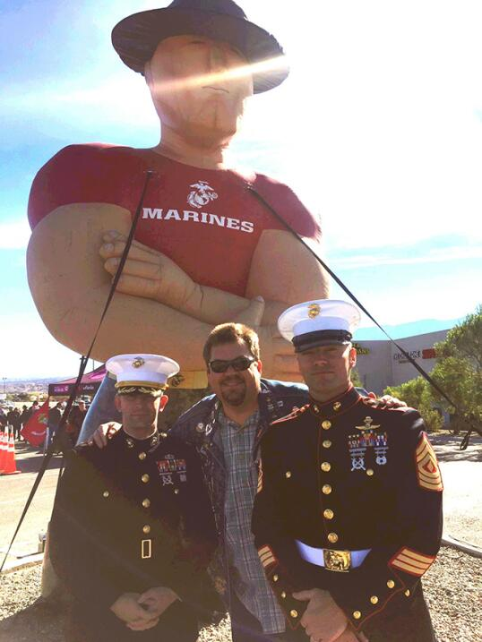 Toys for Tots Kickoff 2015