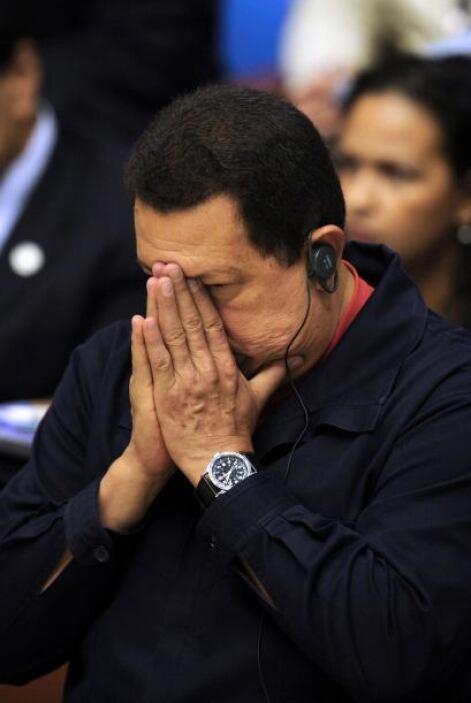 El presidente de Venezuela, Hugo Chávez, pidió a la Asamblea Nacional ap...