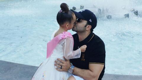 Luis Fonsi y su princesa MiKaela