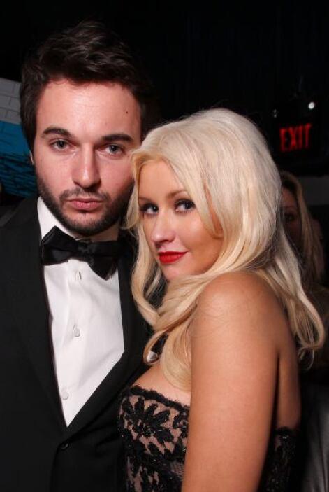 Christina Aguilera y Matthew Rutle tienen una relación muy estable.  Aqu...