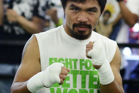 Manny Pacquiao es quien llega al segundo puesto al ganar 62 millones de...