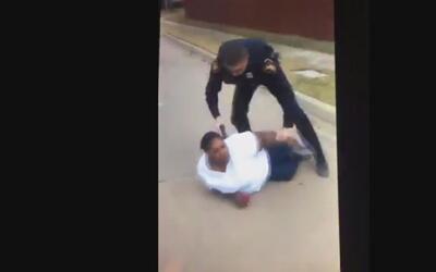 Mujer negra denuncia agresión a  su hijo y termina arrestada