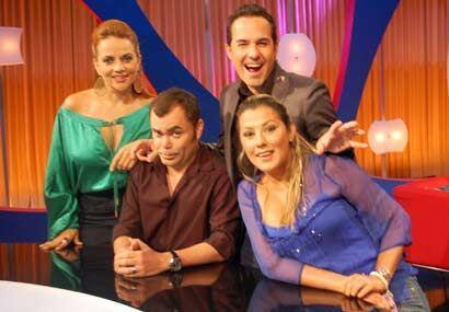 Así son Oscar, Gina y Luisa. Irreverentes, divertidos y tienen la lengua...