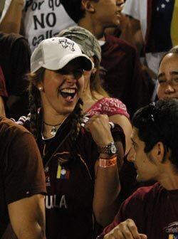 La afición de Venezuela se pudo llevar una sonrisa con el resultado fina...